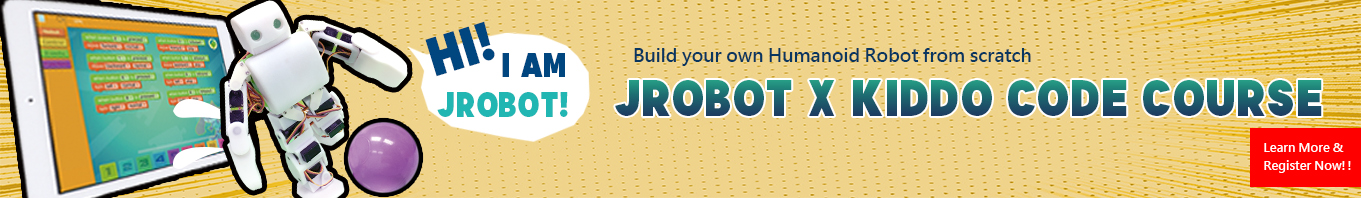 JRobot x Kiddo Code Course