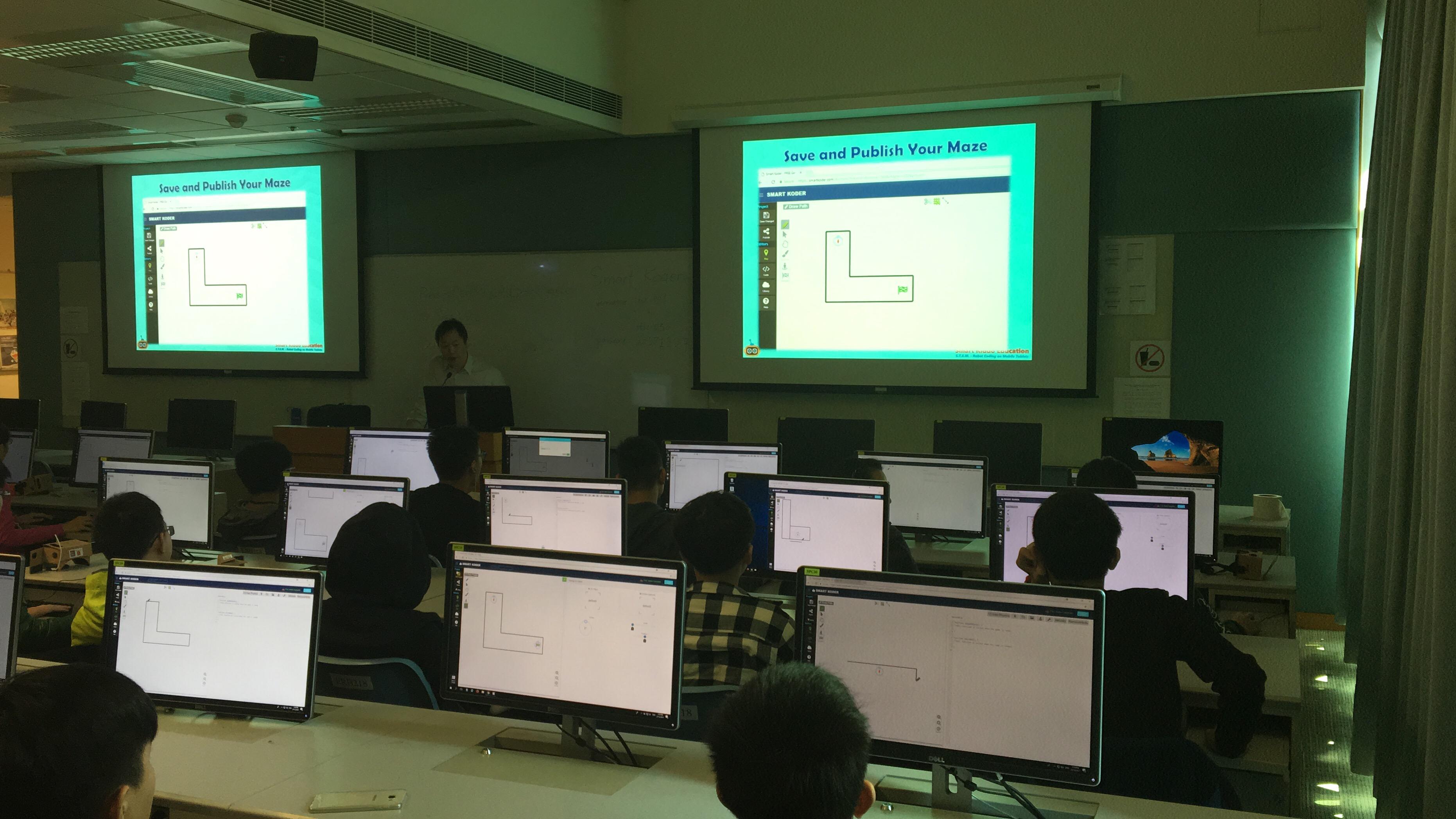 Smart Kiddo - S T E M  Education  Robot Coding courses on